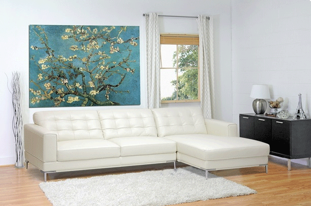 Revamp Your Living Area with a White Sectional Sofa