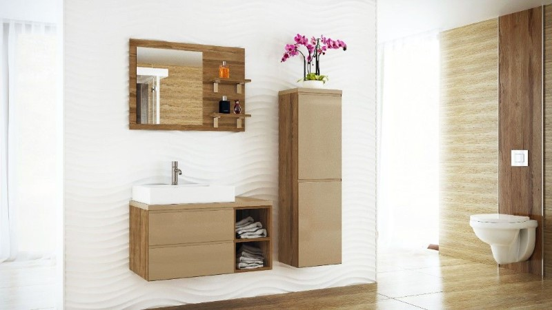 Modern bathroom furniture - Aesthetic and functional