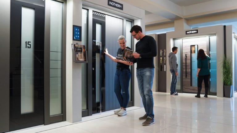 Aluminum Doors from Inotherm