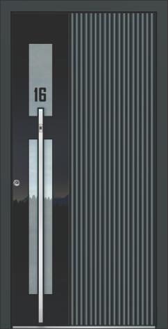 Aluminum doors AAE 1159